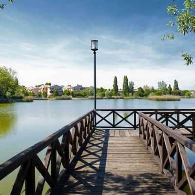 Parco del Gelso, vista sul laghetto