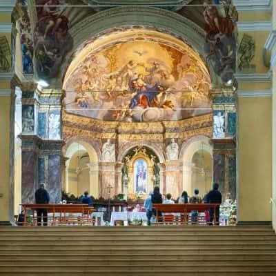 Altare dell'Abbazia di Santa Maria del Monte di Cesena