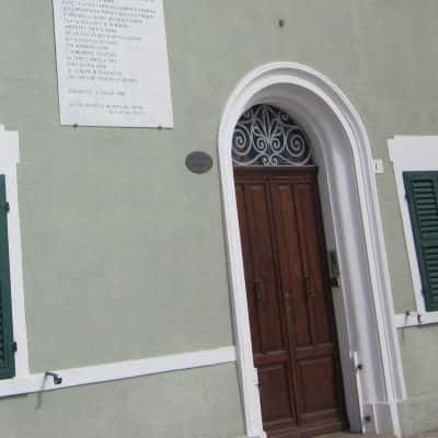 ingresso della casa museo