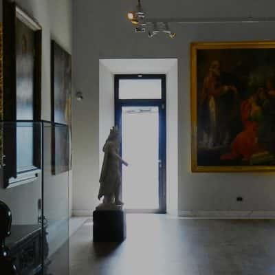 Sala interna Museo di Stato di San Marino
