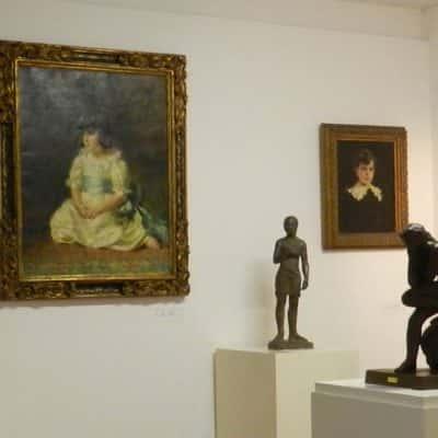 Sala interna Pinacoteca di San Marino