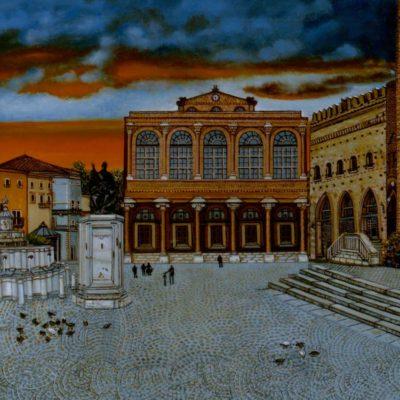 Dipinto di Rimini, realizzato da Gualtieri