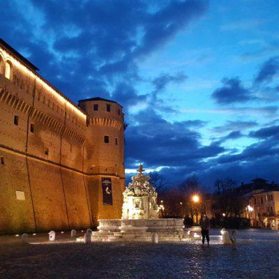 Piazza del Popolo di sera
